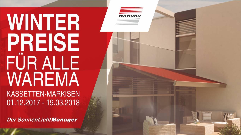 Warema-Kassettenmarkisen-Angebot Home