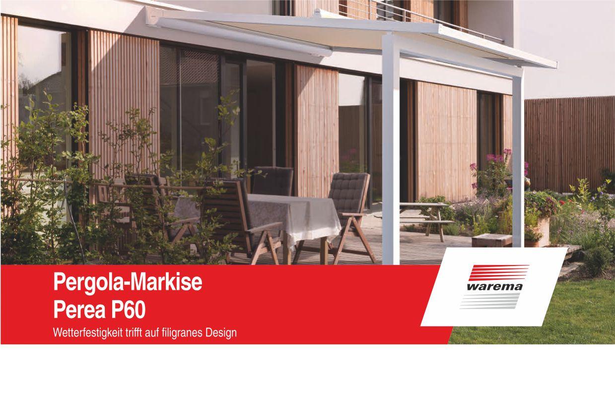 Warema-Pergola-Markisen-Neuheit Home