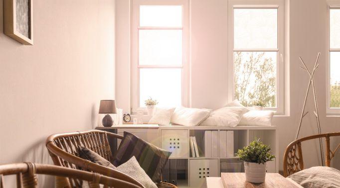 Warema-Glasleistenrollos-in-Wohnzimmer Glasleistenrollos Warema