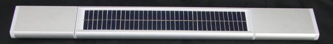 Solar-Rollladen-Solarpanel-Akku Solar Rollladen