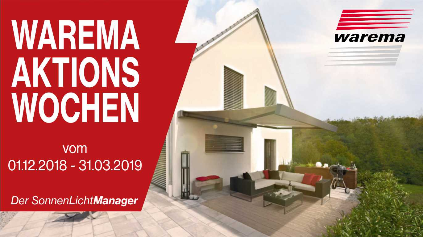 Warema-Aktionswochen Home